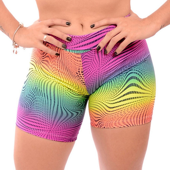 Kit 10 Shorts Roupas Femininas Moda Fitness Atacado S/ Juros