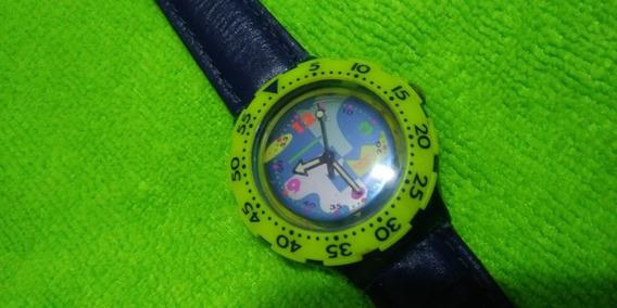 Relógio Swatch Antigo Original, Recomendo Muito Legal