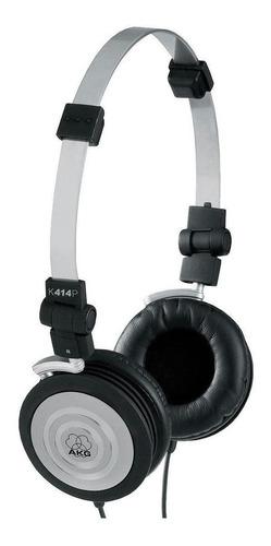 Fone de ouvido AKG K414 P preto