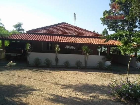 Chácara Residencial À Venda, Tanquã, São Pedro. - Ch0034