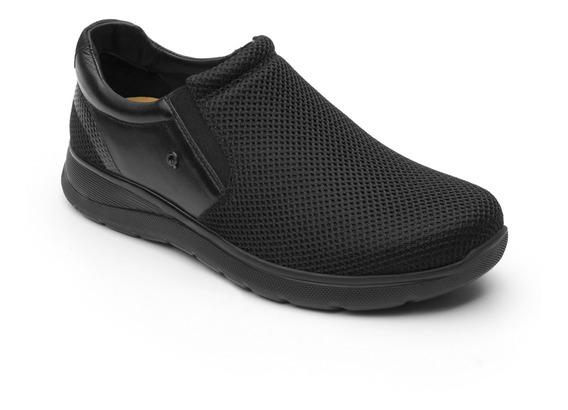 Sneaker Casual Quirelli 89204 Negro