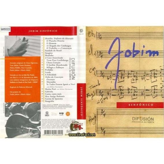 Dvd Jobim Sinfônico Em São Paulo 2006 Com Milton Nascimento.