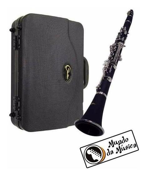Clarinete Shelter Tjs6402 Bb C/ Hard Case Original - Novo