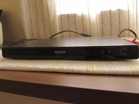 Dvd Player Modelo Dvp3550k Karaokê Phillips Usado