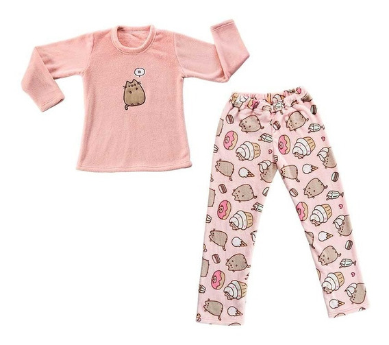Pijama Pusheen Juvenil Mediana Vianney