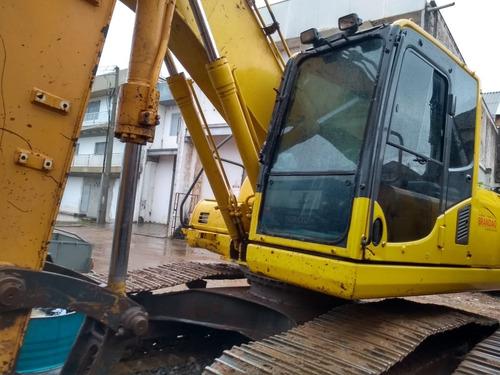 Escavadeira Komatsu Pc200-8*21 T* 2011*com Linha Aux Repasse