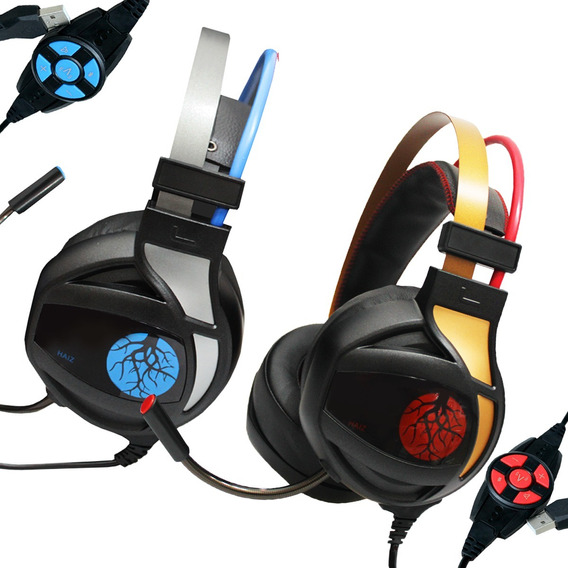 Headset Gamer Haiz M09 7.1 Surround Dolby Vibra Ultra Bass