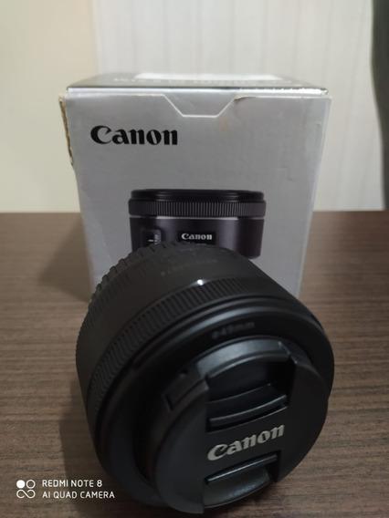 Lente Para Câmera Canon Ef 50mm
