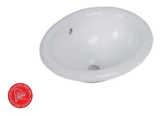 Bacha De Porcelana Sobremesada 1 Aguj 46x38x18,5 Piazza S009
