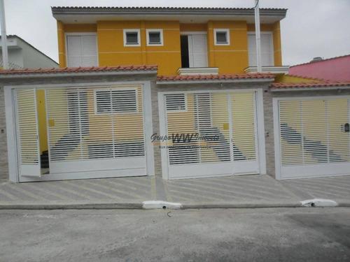 Sobrado À Venda, 150 M² Por R$ 650.000,00 - Vila Maria - São Paulo/sp - So0601
