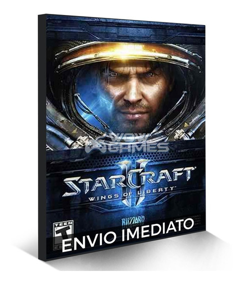 Starcraft 2 Completo Todas Dlcs - Online Portugues Pc Cd-key