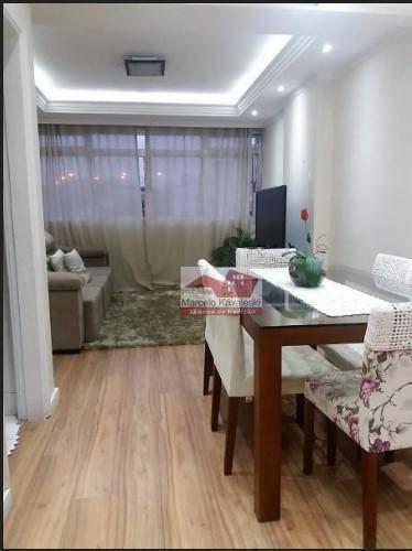 Apartamento Com 3 Dormitórios À Venda, 72 M² Por R$ 550.000 - Vila Santa Eulalia - São Paulo/sp - Ap8262