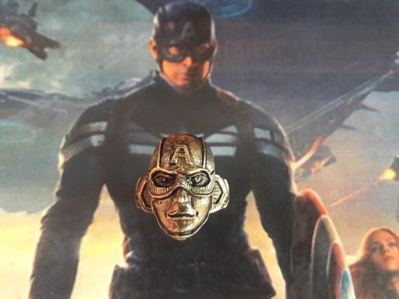 Anillo Capitan America Marvel Movies