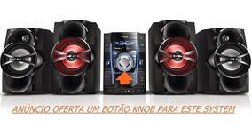 Botao Cromado Fwm9000 M6500 Fwt6600 T9200 Philips Original