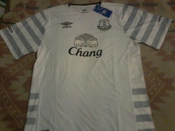Camiseta Everton Inglaterra Umbro Oficial Talle Xl