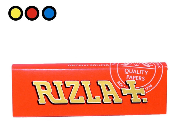 Papel Rizla Red 70mm X 1