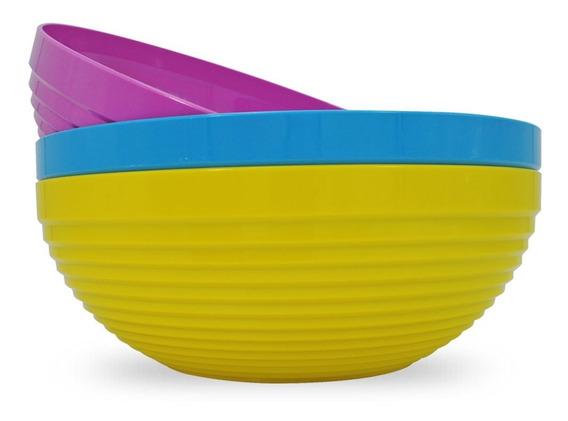 Bowl Miami Grande 30 Cm Colores Plenos Liquidación Stock
