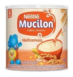 Kit C/3 Mucilon Multicereais 400g Nestlé
