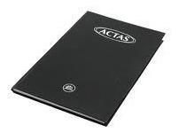 Imagen 1 de 2 de Libro De Actas 180 Folios Tapas Negras Duras Oficio