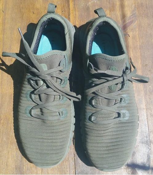 Zapatillas Under Armour Verde Hombre Talle 42 (26cm)