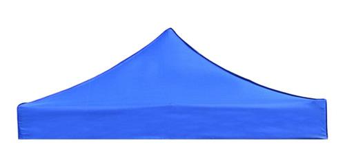Imagem 1 de 11 de Cobertura Superior Da Sombra Do Sol Do Gazebo Do Azul 3x3m