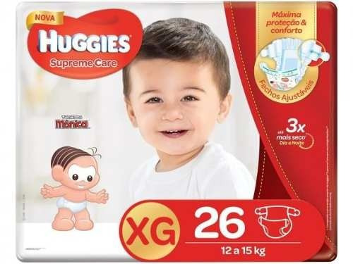 Fralda Huggies Supreme Care Xg - 26 Unidades