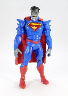 Superman Doomed Dc Multiverse Nuevo Con Caja Sin Baf