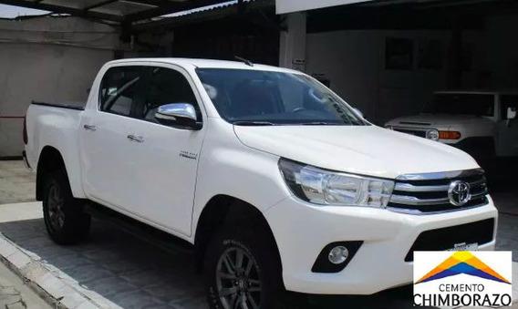 Toyota Hilux Sr 2.7 4x4 2016 Blanca Precio $ 27,000.00