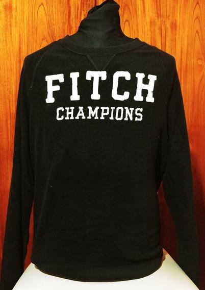 Buzo Abercrombie & Fitch Champions Azul 100% Original