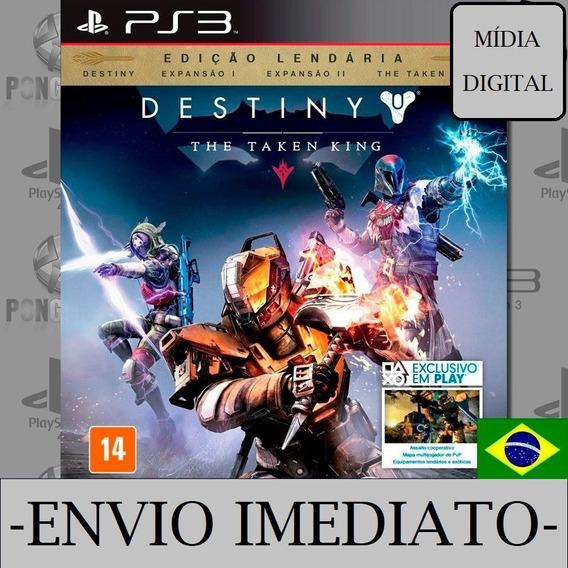 Destiny Ps3 Psn Mídia Digital Dublado Play 3
