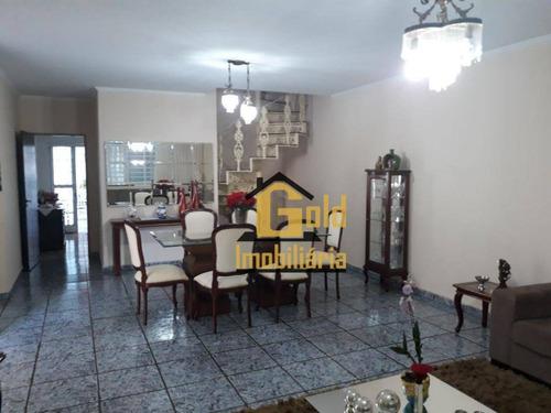 Casa Com 4 Dormitórios À Venda, 310 M² Por R$ 640.000,00 - Nova Ribeirânia - Ribeirão Preto/sp - Ca0227