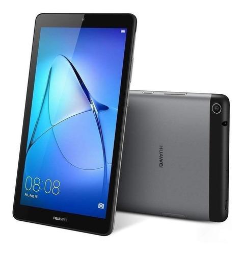 """Imagen 1 de 4 de Tablet  Huawei MediaPad T3 7 BG2-W09 7"""" 8GB gris espacial con 1GB de memoria RAM"""