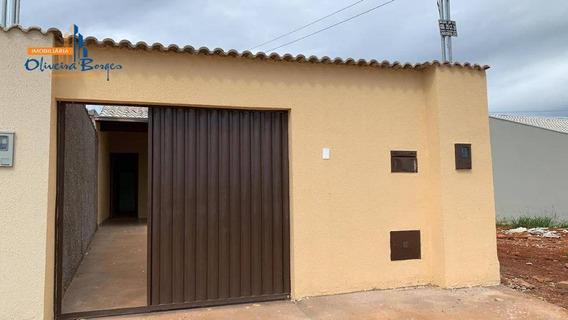 Casa Com 2 Dormitórios À Venda, 83 M² Por R$ 125.000 - Jardim Primavera 1ª Etapa - Anápolis/go - Ca1251