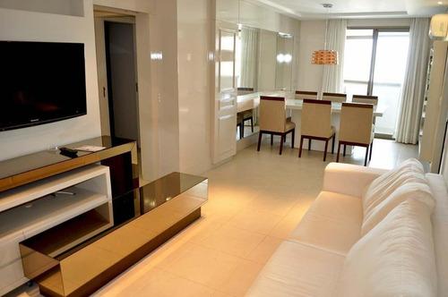 Imagem 1 de 30 de Apartamento Mobiliado No Centro - Ap3697