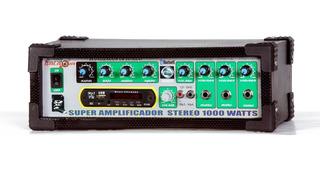 Amplificador De Sonido Usb Conexion Bluetooth