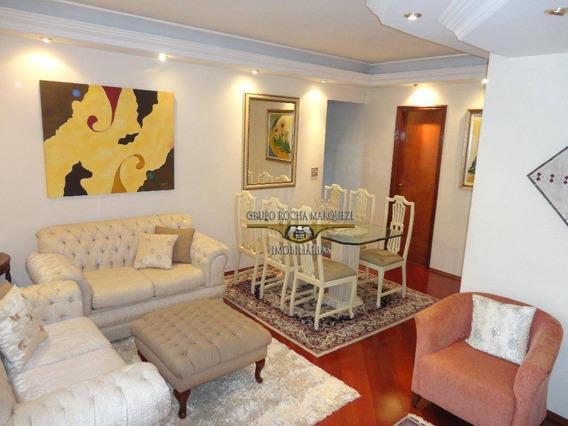 Apartamento Com 3 Dormitórios À Venda, 86 M² Por R$ 550.000,00 - Belém - São Paulo/sp - Ap0574
