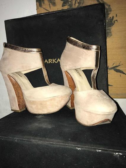 Zapato Sarkany 36 Nude
