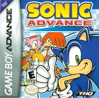Sonic Advance Para Game Boy Advance, Precio V!