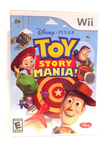 Toy Story Mania Para Nintendo Wii Nuevo Original