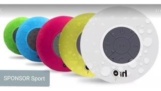 Mini Parlante Bluetooth 5w Con Sopapa - Para Ducha