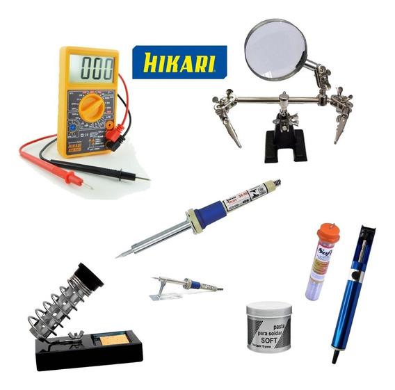 Kit Básico Eletrônica