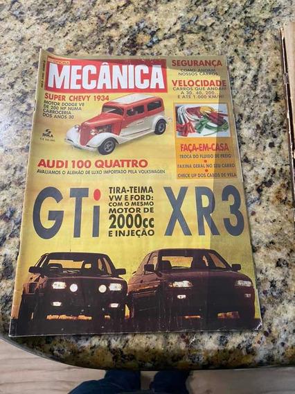 Revista Auto Mecânica Comparativo Ford Escort Xr3/vw Gol Gti