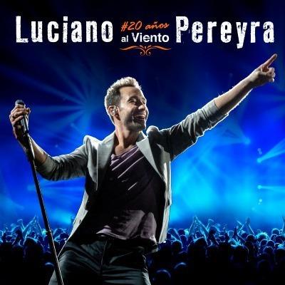 Luciano Pereyra 20 Años Al Viento Cd+dvd Nuevo Open Music U-