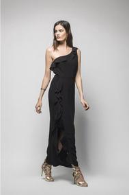 Vestido Negro Formal De Fiesta