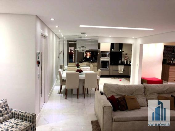 Apartamento Com 3 Dormitórios À Venda, 163 M² Por R$ 1.180.000 - Vila Rosália - Guarulhos/sp - Ap0052