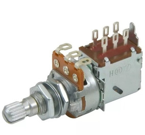 Potenciômetro Dolphin 250k Tone Push Pull - Kit Com 3