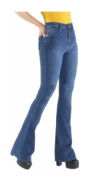 Jean Mujer Oxford Elastizado Calce Perfecto
