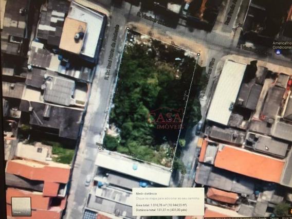 Terreno À Venda, 965 M² Por R$ 875.000 - Vila Nova Curuçá - São Paulo/sp - Te0120