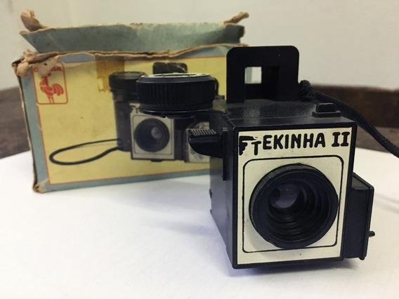 Camera Fotográfica Tekinha Ii - Antiga Sem Uso