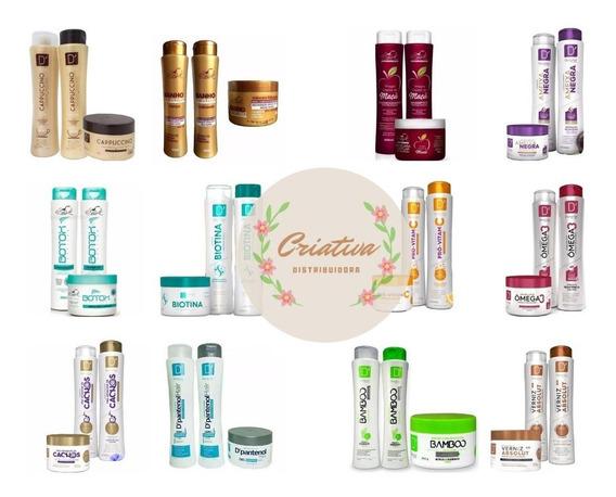 15 Produtos 5 Shampoo 5 Condicionador 5 Máscara D